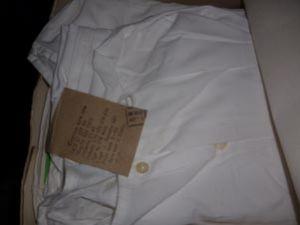 Рубашка мужская нательная белая