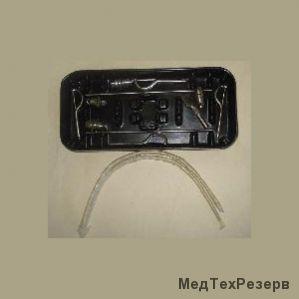Аппарат для внеротовой репозиции и фиксации отломков нижней и верхней челюстей