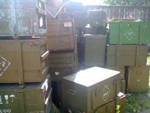 Ящик деревянный армейский